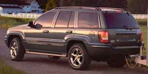 2004 Jeep Grand Cherokee Overland Inferno Red Tinted Pearl V8 47L Automatic 135431 miles  Hig