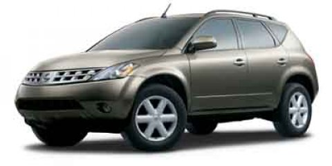 2004 Nissan Murano SE Super Black V6 35L Variable 135894 miles  All Wheel Drive  Tow Hooks