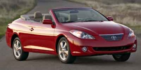 2004 Toyota Camry Solara SE Absolutely Red V6 33L Automatic 47002 miles  Front Wheel Drive