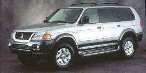 2000 Mitsubishi Montero Sport L Alpine WhiteTan V6 30L Automatic 245373 miles Look at this 200