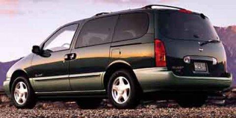 2000 Nissan Quest  V6 33L Automatic 148984 miles  Video entertainment system  4-wheel anti-l