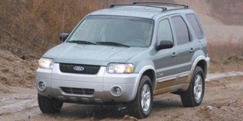 2005 Ford Escape Hybrid Red V4 23L Variable 106344 miles The Sales Staff at Mac Haik Ford Linc