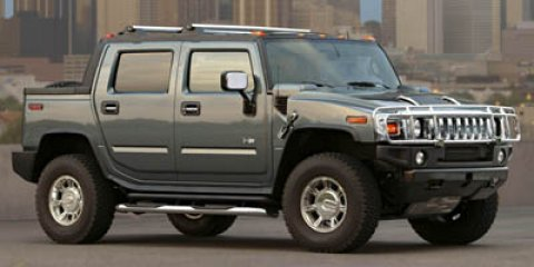 2005 HUMMER H2 SUT Black V8 60L Automatic 97650 miles  Four Wheel Drive  LockingLimited Slip