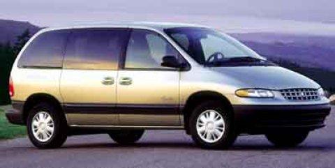 2000 Plymouth Voyager SE Bright Silver Metallic V6 33L Automatic 52012 miles  Front Wheel Dri