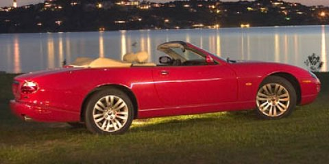 2005 Jaguar XK8 XKR  V8 42L Automatic 91595 miles  Pwr heated body-color mirrors  Auto onof