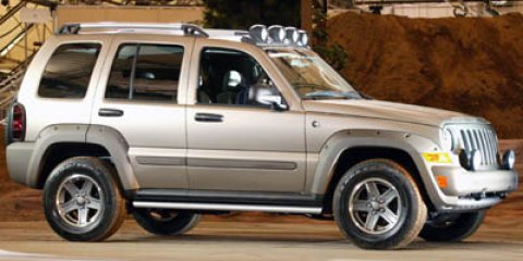 2006 Jeep Liberty Renegade Bright Silver Metallic V6 37L Automatic 90352 miles  Traction Contr