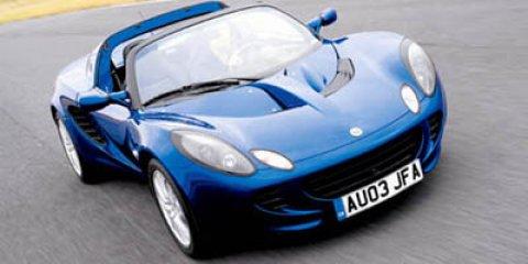 2005 Lotus Elise  V4 18L Manual 25509 miles  Rear Wheel Drive  Tires - Front Performance  T