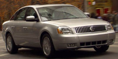 2005 Mercury Montego Premier GOLDPREMIER V6 30L Variable 169533 miles  Traction Control  All