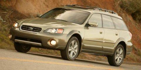 2005 Subaru Legacy Wagon Outback R LL Bean Edition Silver MetGray OpalTAN V6 30L Automatic