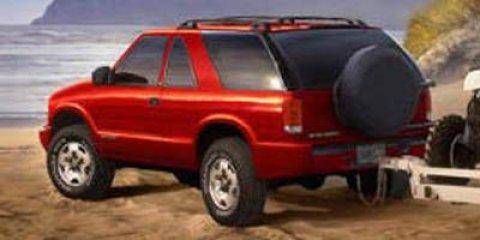 2005 Chevrolet Blazer Indigo Blue MetallicBLACK V6 43L Automatic 57520 miles  Rear Wheel Drive