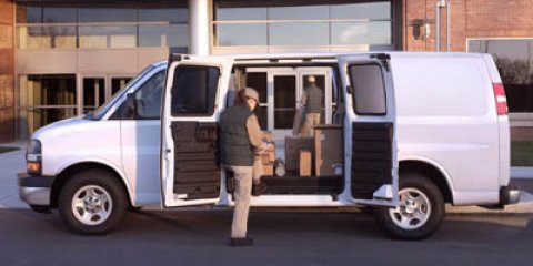 2005 Chevrolet Express Cargo Van White V8 48L Automatic 0 miles Recent Arrival Priced below