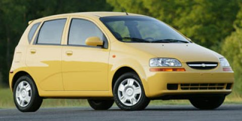 2005 Chevrolet Aveo LS Summer Yellow V4 16L  91860 miles  Front Wheel Drive  Tires - Front Al