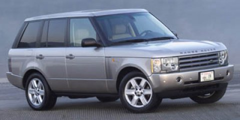 2005 Land Rover Range Rover HSE  V8 44L Automatic 118846 miles  Traction Control  Four Wheel