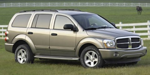 2005 Dodge Durango SXT Bright Silver Metallic V6 37L Automatic 135546 miles  Rear Wheel Drive