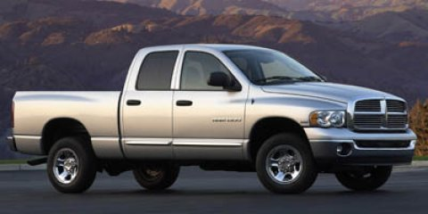 2005 Dodge Ram 2500 SLT Pickup 4D 6 14 ft SilverBlack V8 57L Automatic 164098 miles  Rear Wh
