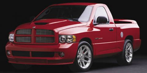 2005 Dodge Ram SRT-10 Flame Red V10 83L Manual 53895 miles  LockingLimited Slip Differential