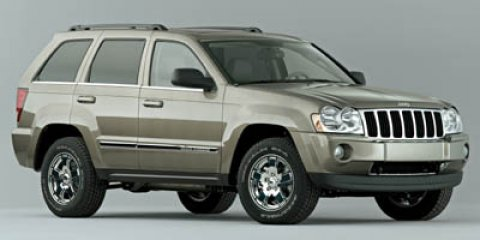 2005 Jeep Grand Cherokee Limited 4WD Inferno Red Tinted PearlKhaki V8 57 Automatic 110474 miles
