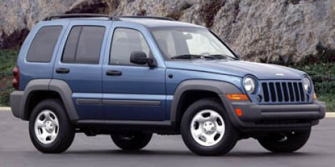2006 Jeep Liberty Sport Blue V6 37L Automatic 74673 miles  Traction Control  Stability Contro