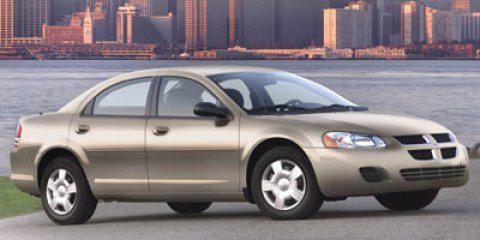 2005 Dodge Stratus Sdn SXT Green V4 24L Automatic 152065 miles Win a score on this 2005 Dodge