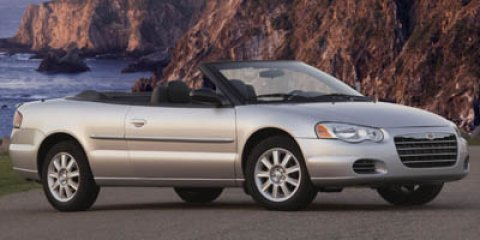 2005 Chrysler Sebring Conv GTC Stone White V6 27L Automatic 66846 miles GTC trim FUEL EFFICIE