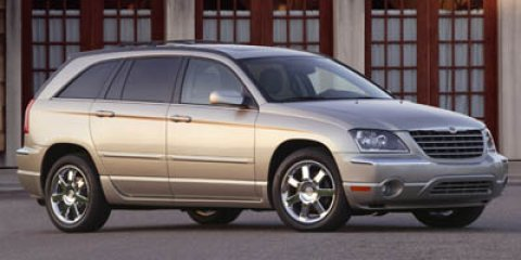 2005 Chrysler Pacifica Touring Inferno Red Crystal PearlTaupe V6 35L Automatic 142887 miles  F