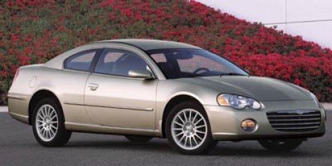 2004 Chrysler Sebring Limited White V6 30L  106477 miles Only 106 477 Miles Delivers 29 Hig