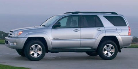 2005 Toyota 4Runner SR5 Titanium Metallic V6 40L Automatic 138355 miles  Rear Wheel Drive  Lo