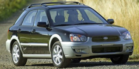2005 Subaru Impreza Wagon PlatinumBlack V4 25L Automatic 94536 miles  Leather-wrapped steerin