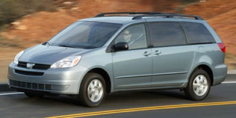 2005 Toyota Sienna LE Blue Mirage Metallic V6 33L Automatic 109197 miles Local Used Car Deale