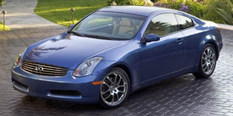 2005 Infiniti G35 Coupe 2DR CPE AT Blue V6 35L Automatic 144653 miles  Traction Control  Stab