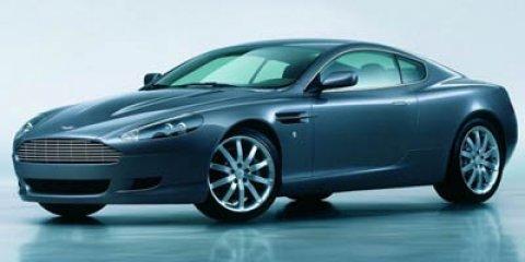2005 Aston Martin DB9 Mercury SilverObsidian Black V12 59L Automatic 25334 miles NAVIGAT