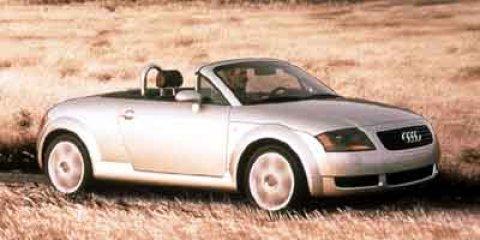 2001 Audi TT 2DR ROADSTER QTR Lake Silver Metallic V4 18L Manual 120050 miles  Turbocharged