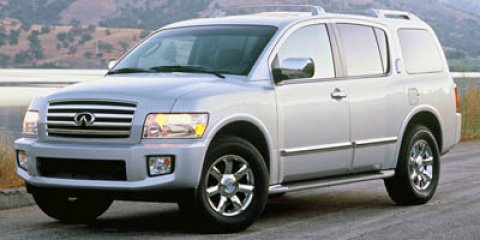 2005 Infiniti QX56 BLIZZARD PEARLDARK GRAY V8 56L Automatic 110401 miles  Priced Below the M