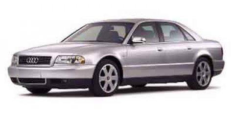 2001 Audi S8  V8 42L Automatic 91338 miles  All Wheel Drive  Traction Control  Stability Con