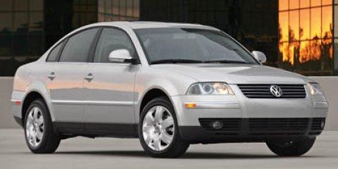 2005 Volkswagen Passat Sedan GLS  V4 18L Manual 0 miles  Turbocharged  Traction Control  Tir