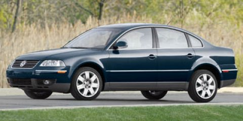 2005 Volkswagen Passat Sedan GLS  V4 20L Automatic 0 miles  Turbocharged  Traction Control
