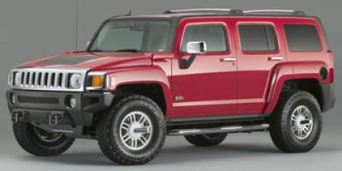 2006 HUMMER H3 Red V5 35L  75160 miles  Four Wheel Drive  Traction Control  Tow Hooks  Tir