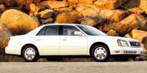 2001 Cadillac DeVille White V8 46L Automatic 107747 miles CARFAX BUY BACK GUARANTEE KEYLESS E