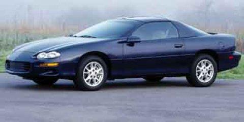 2002 Chevrolet Camaro 2DR CPE PLC PKG Burgundy V6 38L  80156 miles Passionate enthusiasts wan