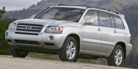 2006 Toyota Highlander Hybrid 4WD HYBRID Bluestone Metallic V6 33L Variable 164906 miles NEW
