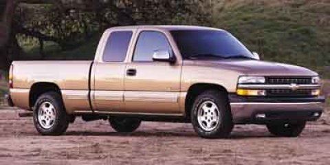2001 Chevrolet Silverado 1500 EXT CAB 2WD 1435 Tan V8 48L Automatic 239900 miles  Rear Wheel