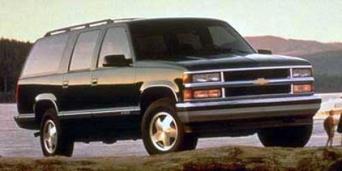 1997 Chevrolet Suburban Onyx Black V8 57L Automatic 176867 miles 4-Speed Automatic with Overd