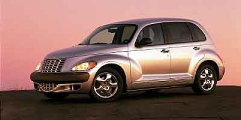 2002 Chrysler PT Cruiser Limited MOONROOF Patriot Blue PearlTaupePearl Beige V4 24L Automatic