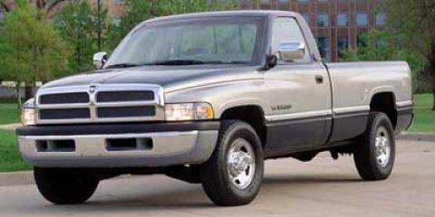 1997 Dodge Ram 2500 2DR REG 135WB H Red Silver V8 59L  129106 miles  Four Wheel Drive  Tires