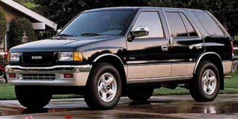 1997 Isuzu Rodeo Ebony BlackGray V4 26L Manual 187740 miles  Rear Wheel Drive  Tires - Front