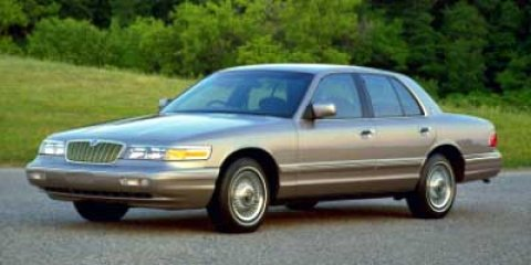 1997 Mercury Grand Marquis LS White V8 46L Automatic 143369 miles  Rear Wheel Drive  Tires -