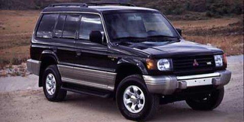 1997 Mitsubishi Montero LS  V6 35L Automatic 144297 miles New Arrival This LS comes with grea