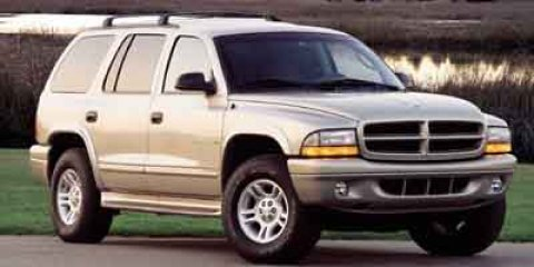 2001 Dodge Durango 4DR Bright White V8 47L Automatic 137649 miles  Rear Wheel Drive  Tires -
