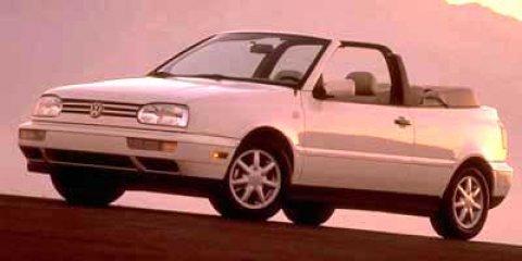 1997 Volkswagen Cabrio FWD Convertible Memory Red MetBlack V4 20L Automatic 97243 miles Conv