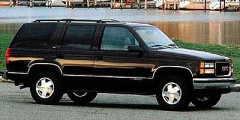 1997 GMC Yukon Burgundy V8 57L Automatic 222614 miles 4D Sport Utility What a price for a 97